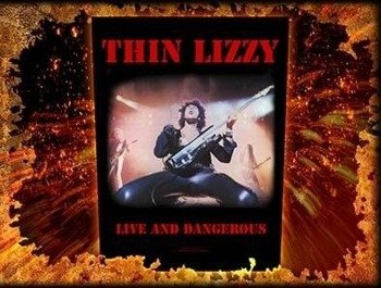 ekran THIN LIZZY - LIVE AND DANGEROUS