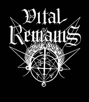 ekran VITAL REMAINS - LOGO