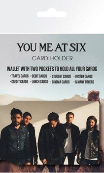 etui na kartę kredytową YOU ME AT SIX - BAND