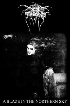 flaga DARKTHRONE - A BLAZE IN THE NORTHERN SKY