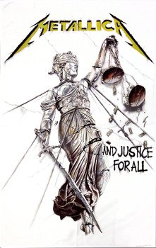 flaga METALLICA -  ...AND JUSTICE FOR ALL