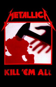 flaga METALLICA - KILL 'EM ALL