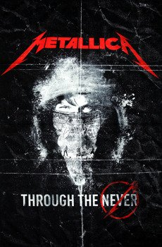 flaga METALLICA - THROUGH THE NEVER