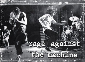 flaga RAGE AGAINST THE MACHINE - STAGE