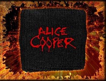 frotka na rękę ALICE COOPER - LOGO