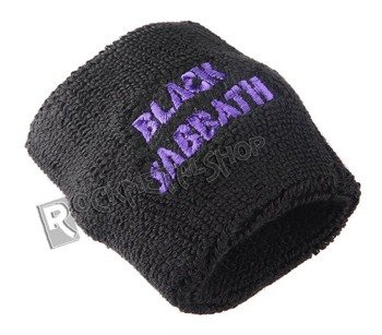frotka na rękę BLACK SABBATH - PURPLE WAVY LOGO