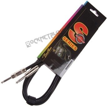 kabel gitarowy BOSTON S-SERIES jack SWITCHCRAFT prosty/prosty 6m