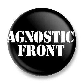 kapsel AGNOSTIC FRONT - LOGO 2