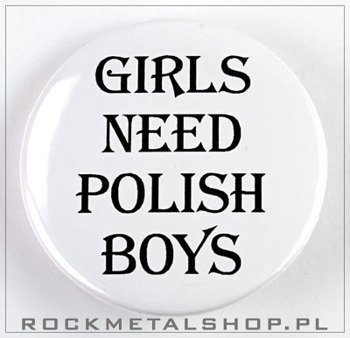 kapsel GIRLS NEED POLISH BOYS