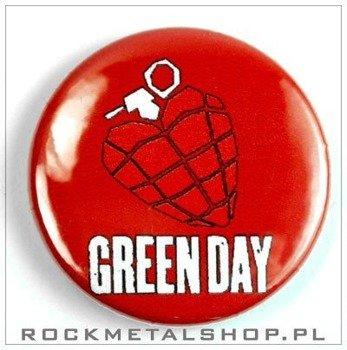 kapsel GREEN DAY - HEART GRENADE średni