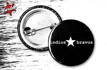 kapsel INDIOS BRAVOS - MENTAL REVOLUTION - LOGO MAŁE czarny