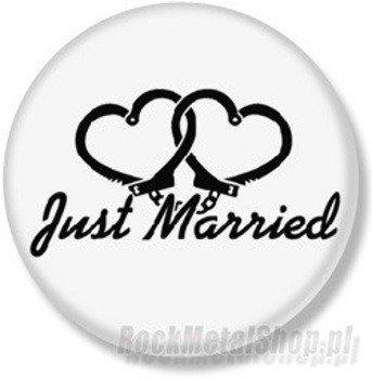 kapsel JUST MARRIED średni