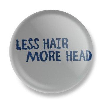 kapsel LESS HAIR MORE HEAD Ø25mm