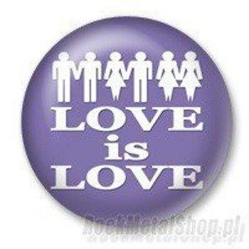 kapsel LOVE IS LOVE Ø25mm
