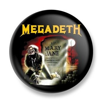 kapsel MEGADETH - MARY JANE
