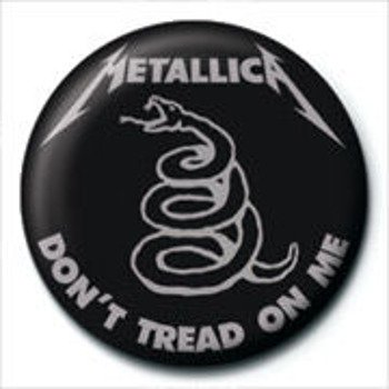 kapsel  METALLICA - DON'T TREAD ON ME