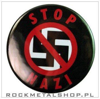 kapsel STOP NAZI średni