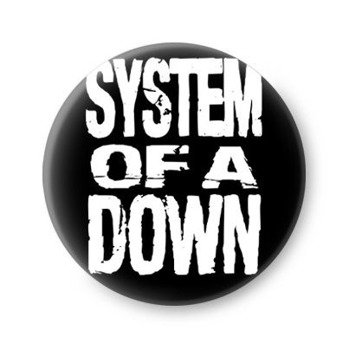 kapsel SYSTEM OF A DOWN - LOGO