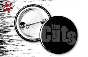 kapsel THE CUTS - LOGO czarno-szary