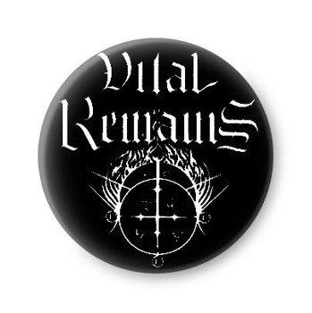 kapsel VITAL REMAINS - LOGO