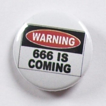 kapsel WARNING 666 IS COMING