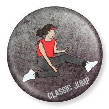 kapsel średni AIR GUITAR - CLASSIC JUMP Ø38mm