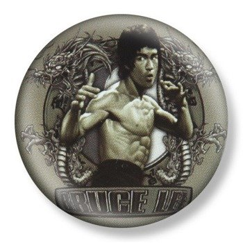 kapsel średni BRUCE LEE Ø38mm