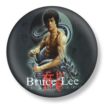 kapsel średni BRUCE LEE - THE DRAGON Ø38mm