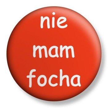 kapsel średni NIE MAM FOCHA Ø38mm