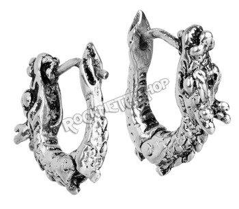 kolczyk DRAGON, srebro 925