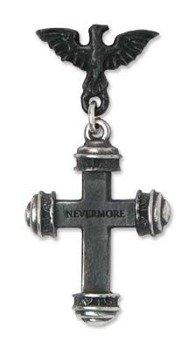 kolczyk NEVERMORE [E284] Alchemy Gothic