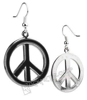 kolczyki PEACE