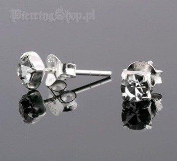 kolczyki do uszu CYRKONIA CR [STF-253]