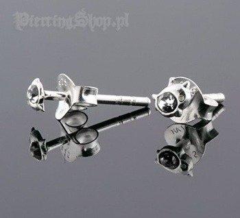 kolczyki do uszu DELFIN CR [STF-210]
