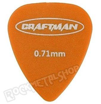 kostka gitarowa CRAFTMAN - MATTE ABS ORANGE WP-600Q