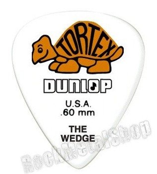 kostka gitarowa DUNLOP - TORTEX THE WEDGE ORANGE 0.60 mm (424R0.60)