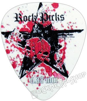 kostka gitarowa ROCK PICK - BLACK STAR