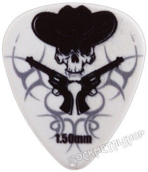 kostka gitarowa ROCK PICK - GUNSKULL