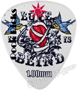 kostka gitarowa ROCK PICK - LOVE BLIND