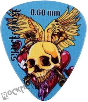 kostka gitarowa ROCK PICK - SKULL & HEART
