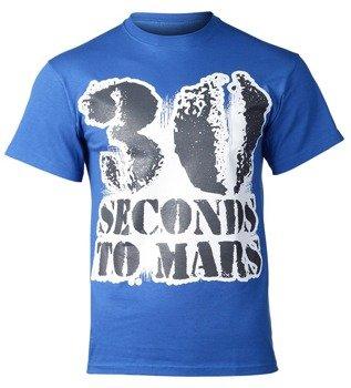koszulka 30 SECONDS TO MARS niebieska
