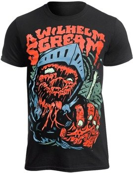 koszulka A WILHELM SCREAM - KNIGHT (BLACK)