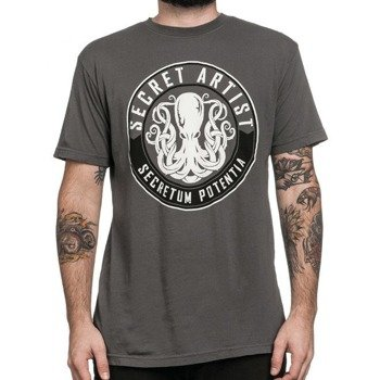 koszulka AFFLICTION - SECRET SEAL szara