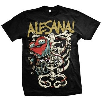 koszulka ALESANA - SKELETON