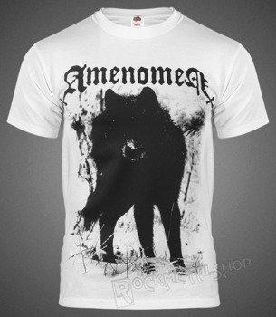 koszulka AMENOMEN - SNOW WOLF (OMEN037KM WHITE)