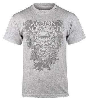 koszulka AMON AMARTH - LOGO szary melanż