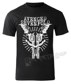 koszulka AVENGED SEVENFOLD - BLACK BAT GUNS