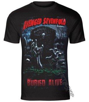 koszulka AVENGED SEVENFOLD - BURIED ALIVE TOUR 2012