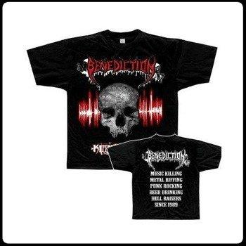 koszulka BENEDICTION - KILLING MUSIC