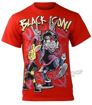 koszulka BLACK ICON - NU PAGADI (MICON121 RED)